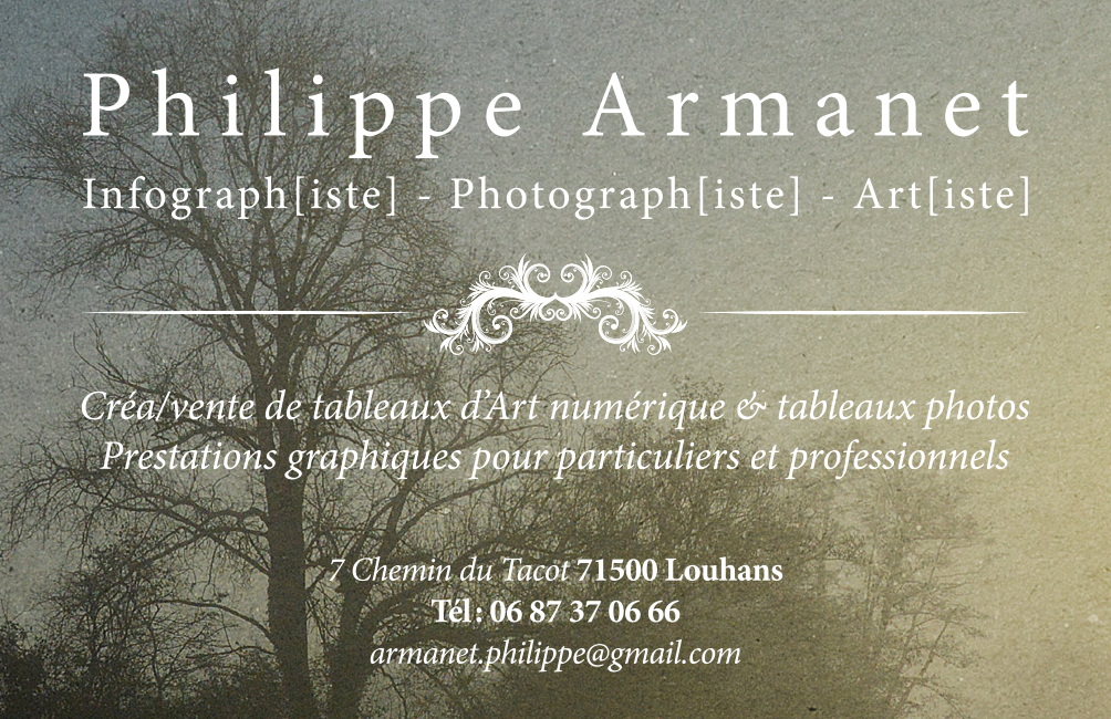 Philippe Armanet infographiste en Saone-et-loire