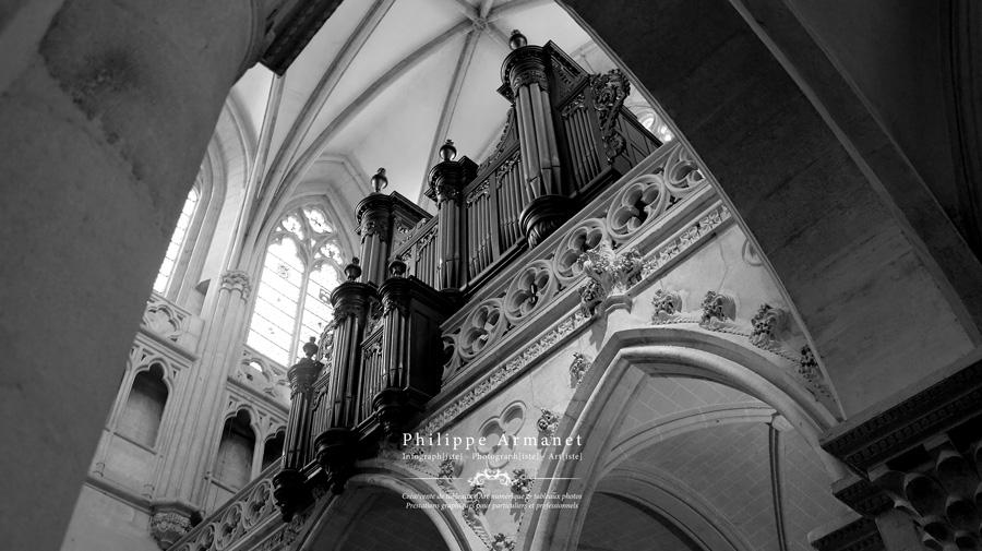 Exposition tableau photo Cathédrale de Chalon-sur-Saône