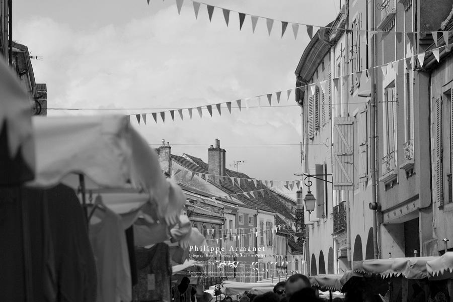 Photo du marché de Louhans