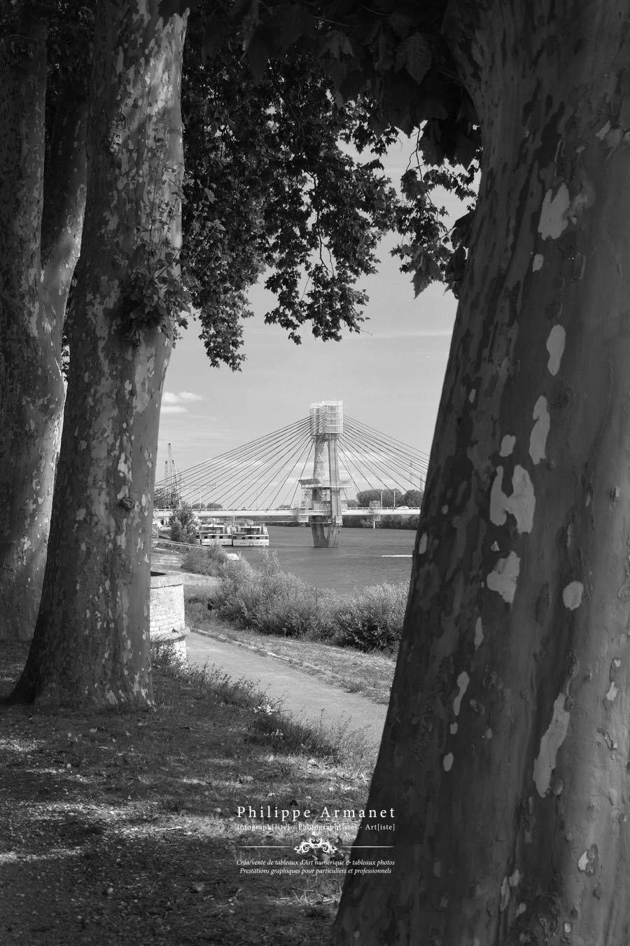 Photo du pont de Bourgogne à Chalon-sur-Saône