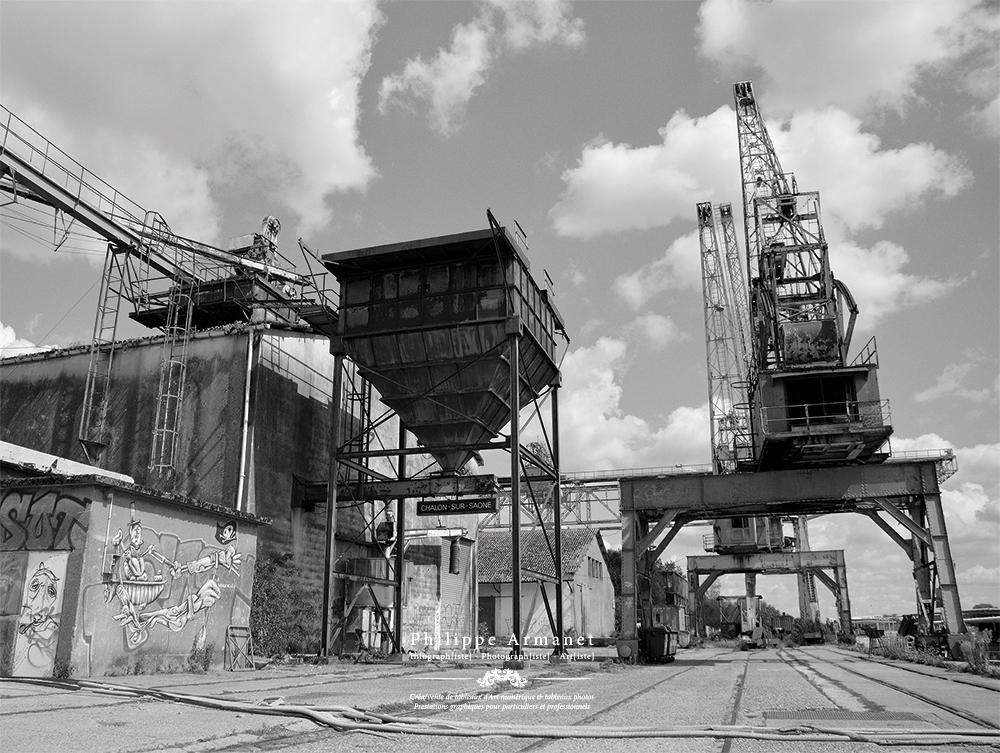 Photo à tirage limité, Port Nord Chalon-sur-Saône