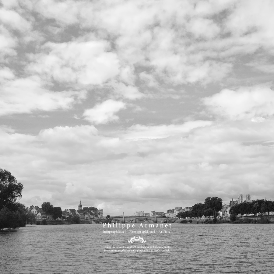 Photo noir et blanc de Chalon-sur-Saône, tirage limité