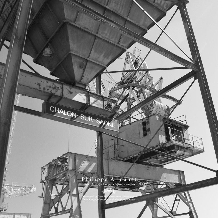 Expo photo à Chalon sur Saône, photo du Port Nord de Chalon