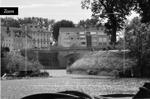 Photo d'art de Chalon sur Saône.