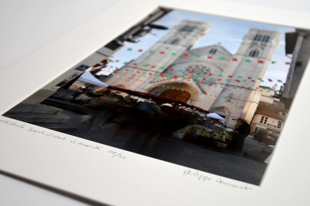 Photo de la Cathédrale Saint-Vincent en tirage limité