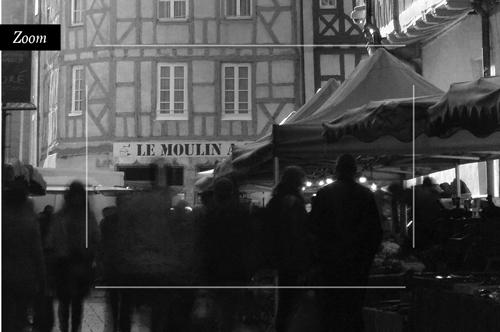 Marché rue aux Fèvres, Chalon-sur-Saône. Tous droits réservés, philippe Armanet