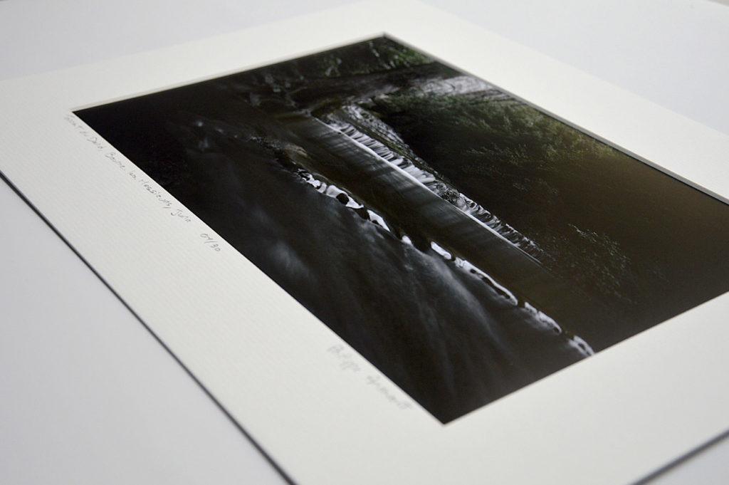 Le torrent du Dard à Baume-les-Messieurs, photo d'art en tirage limité