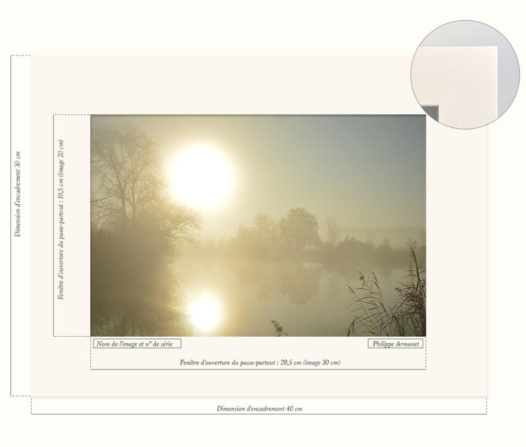 Photo de brume en bresse, par Philippe Armanet