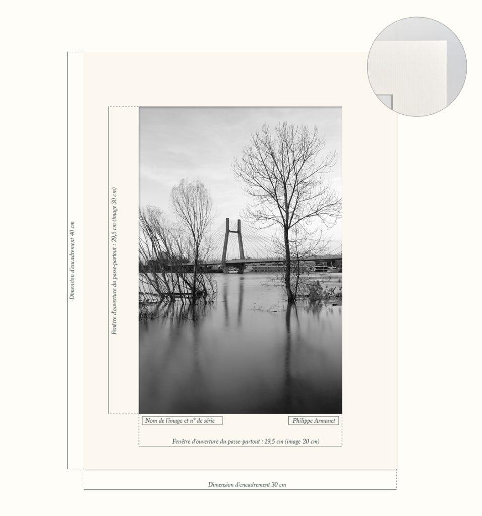 Photo du pont de Bourgogne à Chalon sur Saône.
