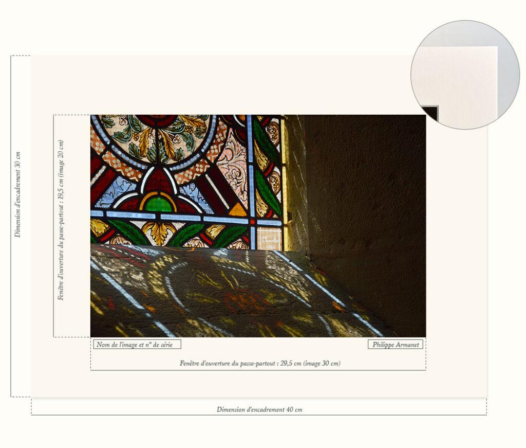 Photo de vitraux d'église