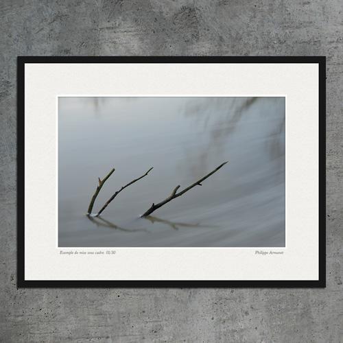 Photo en longue exposition
