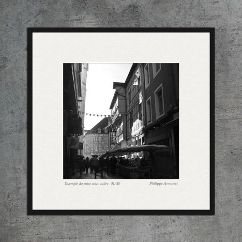 Vente de photographies en noir et blanc