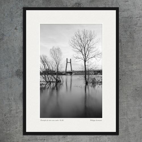 Photo de Chalon sur Saône encadrée